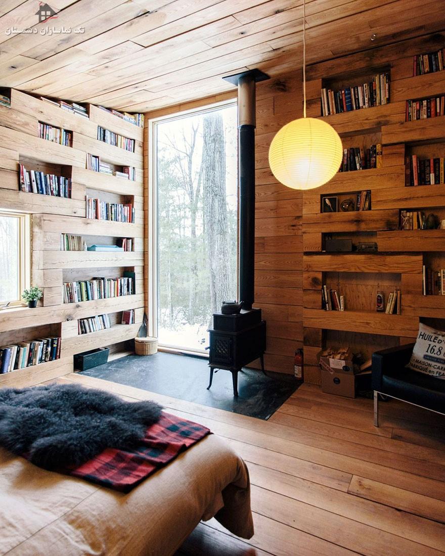 دکوراسیون  کافه کتاب