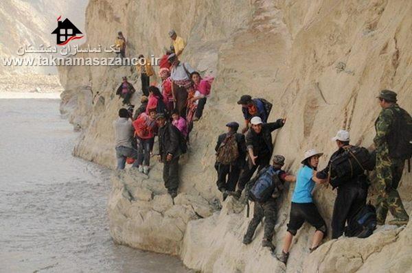 125 مایل سفر به یک مدرسه شبانه روزی از طریق کوه ها،پیلی،چین